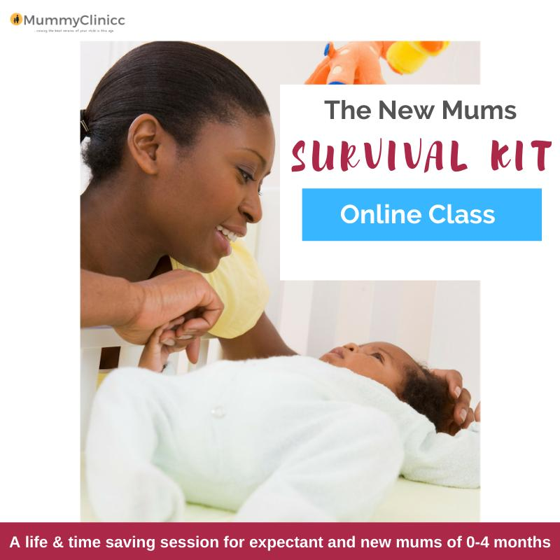 The New Mums Survival Kit Online Session